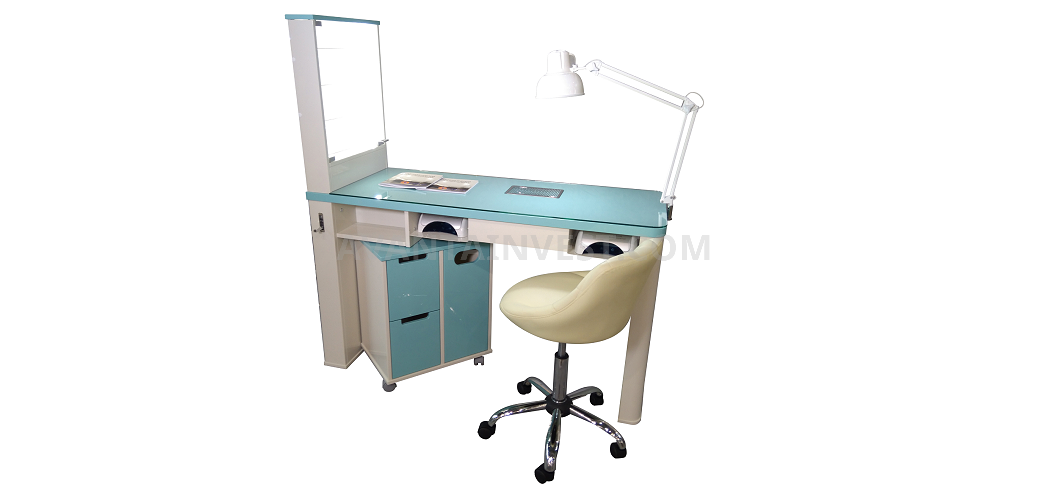Manicure tables and banquets for express manicure