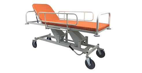 Trolleys for conveyance of patients