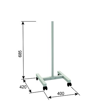 A-021 Mobile stand (for air recirculator)