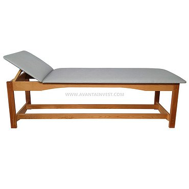 Couch-table for physiotherapy, cardiologic and electrotherapy
