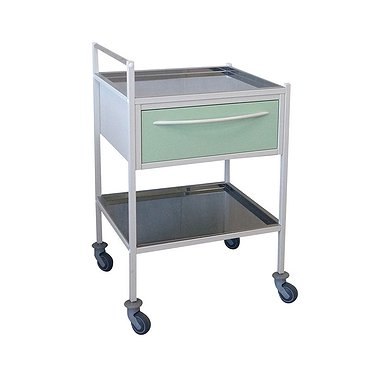 Т-12 trolley with 2 shelves and 1 drawer