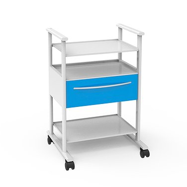 Truck T-12 (1) with 2 shelves and 1 drawer