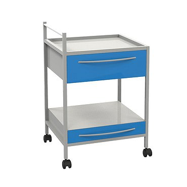 Т-15 trolley with 2 shelves and 2 drawers