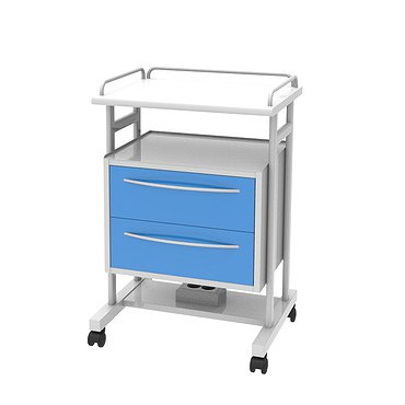 Trolley T-15 (1) with 2 drawers and a shelf
