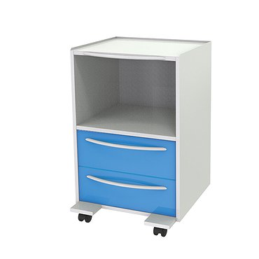 Trolley T-15 (2) with 2 drawers and shelf