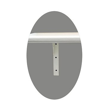 Wall-mounted KN-1 bracket for tabletop base