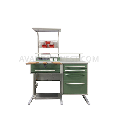 Table for dental technician L-1 / 2DNP + P-04