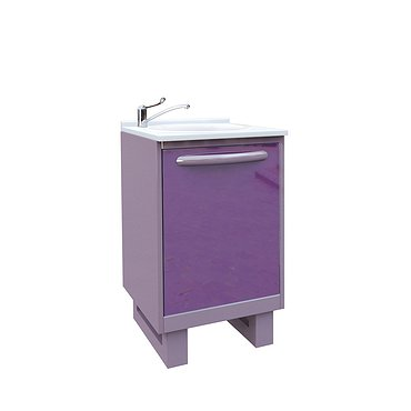 Module P-10M with sink, standart faucet, wastebasket