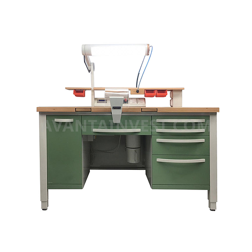 L-1/2PP (luxury) Dental technician's desk