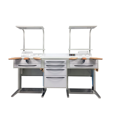 Dental technician desk BUDGET (modular system)