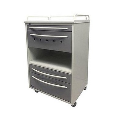 Trolley A-016B (1) with 3 drawers, with bactericidal lamp Philips