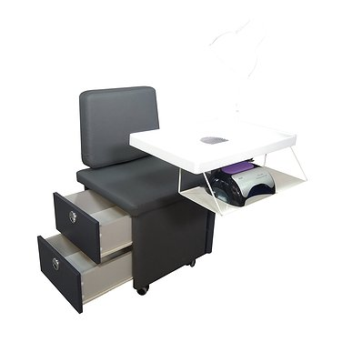 Bench for express manicure BN-1 with an electric motor