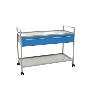 Т-01 trolley with 2 shelves and 2 drawers