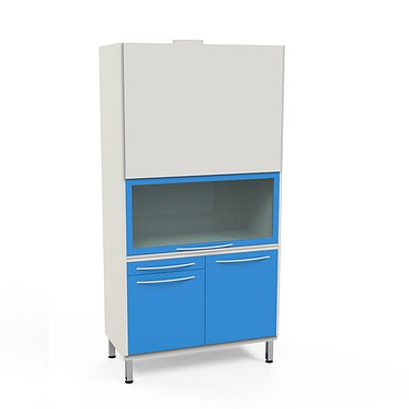L-3HM Lab cabinet with exhaust system, heating unit and sink