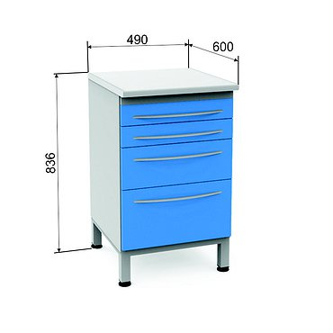 Module P-04 with 4 drawers