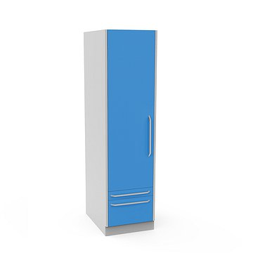 Locker SHK-1 with 4 shelves and drawer